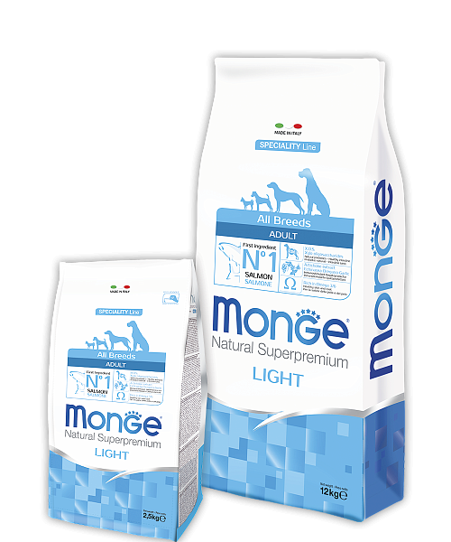 картинка MONGE ALL BREEDS LIGHT от ЗОО-магазина К-9
